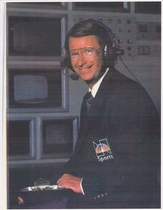Earl Anthony NBC Bowling Announcer 1991 Bowling Digest