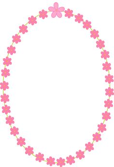 Free Digital Flower Frames Scrapbooking Paper And Stickers – Png
