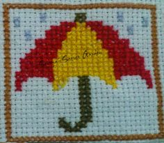 Heart in Hand Needleworks Monthly Markings  April Cross Stitch Ponto Cruz