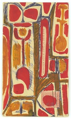 Will Barnet, Untitled (ca. 1954-1959)