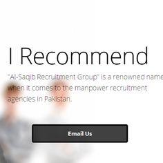 Being a manpower professional in Pakistan, we deal in all types of placements whether related to any field of work. There are only few manpower recruitment consultants of this caliber and we proudly present ourselves as one of the top placement consultants. We are one of the top manpower recruitment agencies in Pakistan that provide authentic placements overseas, making the manpower experience worthwhile.