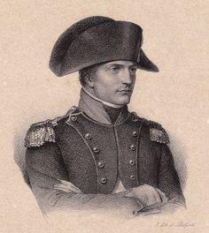 Lithographie Empereur Napoléon Bonaparte Premier Empire Corse Ajaccio 1833   eBay