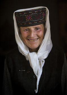 Tajik woman from Tashkurgan, in Xinjiang, China