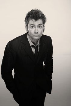 """David Tennant  -- my favorite Dr. (though I didn't feel that way in the beginning of his """"regeneration"""")"""