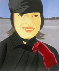 """Alex Katz """"Red Glove"""" 2003"""