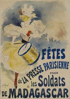 Fêtes de la presse parisienne by Georges Meunier