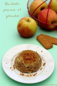 Bowlcake à la pomme et spéculoos 6 SP
