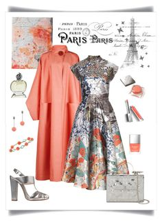 """J'adore Paris au Printemps"" by romaboots-1 ❤ liked on Polyvore featuring Marmont Hill, Roksanda, Mary Katrantzou, Etro, Okhtein, Lela Rose, Burberry, Butter London and Sisley"