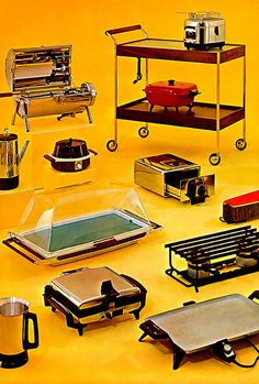 Appliances - I'm guessing from the Seventies