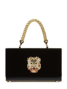 Guardian Box Clutch from Charlotte Olympia on Gilt