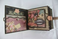 6x6 Romance Novel Scrapbook Mini-Album PDF Tutorial por SoMuchScrap