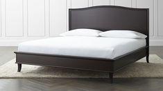 Colette Espresso King Bed