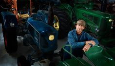 Ken Robinson - Kyabram Vintage Tractor collector   Mens Shed Photography Project