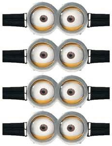 photograph relating to Free Printable Minion Eyes known as 105 Perfect Minion Birthday Get together shots inside 2017 Minion
