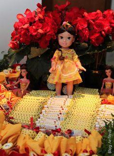 decoração de festa a bela e a fera-14 como receber em casa decoração mesas