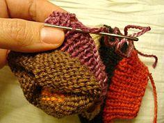 Πλεκτά γάντια χωρίς δάκτυλα