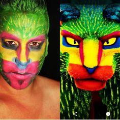 Coco movie  Disney pixar alebrije pepita makeup