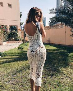 showpo, showpo dress, white crochet beach dress, crochet dress, white dress, beach dress, dress