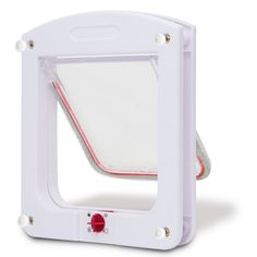 OxGord Dog Cat Flap Doors with 4 Way Lock for cats Entry and Exit - 2016 Newly Designed Model * Quickly view this special cat product, click the image : Cat Doors, Steps, Nets and Perches