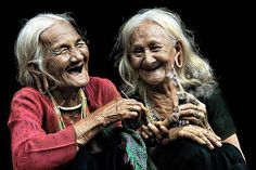 A good laugh at any age is healthy for us all.
