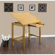 Studio Designs Americana II Light Oak 48-inch Wide Drafting and Hobby Craft Table | Overstock.com Shopping - The Best Deals on Drafting Tables