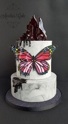 Captive - Between Minds Collaboration - cake by Aurelia's Cake