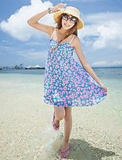 Women's Bohemia Fashion Floral Mini Dresses – USD $ 16.09