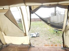 New 12x9x5ft Canvas Wall Tent W Poles And Floor