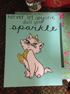 I don't even like cats but this is cute. Don't let anyone dull you sparkle #glitter