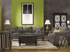 La-Z-Boy Delaney Sofa and Loveseat  http://designmeetscomfort.com/2012/04/17/mix-it-up-get-your-room-noticed/