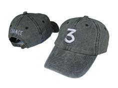 8912a71494be New Baseball Caps chance the rapper 3 Hat Cap men Black Letter Embroidery  Hip Hop Streetwear Bone Snapback Casquette Sun dad Hat