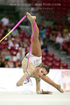 Varvara Filiou - Greek Rhythmic Gymnast