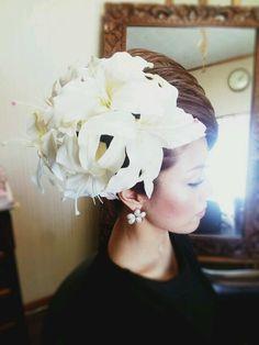wedding 和装 bridal up hair set 結婚式 ヘアセット アップ
