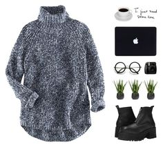 Melissa by chelseapetrillo on Polyvore featuring polyvore, fashion, style, H&M, UNIF, Zodax and cozy