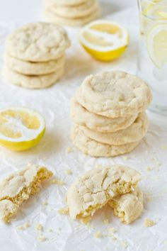 One of the best things about Spring? Meyer Lemons.  This Meyer Lemon Cookies recipe couldn't be simpler, or sweeter!  Whip them up for your next dessert.