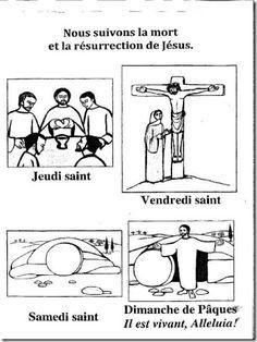 Suivons la mort et résurrection de Jésus