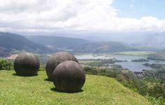 The Stone Spheres of Costa Rica - 300 almost perfect spherical orbs, beaut