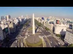 Buenos Aires desde el aire - BUENOS AIRES FROM THE SKY - Argentina - YouTube