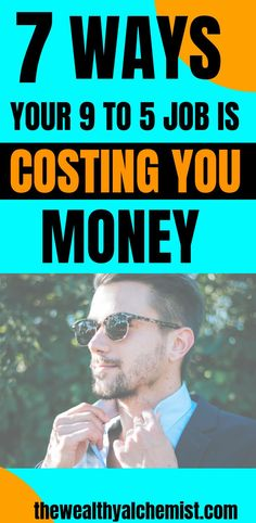 Have you ever thought how much money your 9 to 5 job is costing you? Maybe not, but you should know the hidden cost of your 9 to 5 job, and how you can fix them to improve your financial situation. Money Tips, Money Saving Tips, Living On A Budget, Frugal Living, Financial Literacy, Financial Peace, Lost Money, Budgeting Money, Frugal Tips