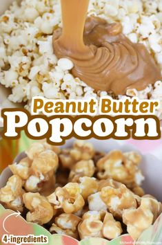 Snack Mix Recipes, Candy Recipes, Sweet Recipes, Dessert Recipes, Snack Mixes, Sweet Popcorn Recipes, Brittle Recipes, Fun Recipes, Peanut Butter Popcorn