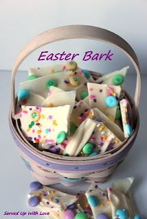 Served Up With Love: Easter Bark