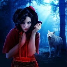 Jasmin Junger Red riding hood