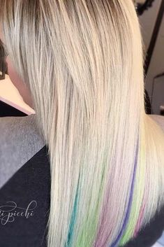 24 Bombshell Ideas for Blonde Hair with Highlights ★ Amazing Blonde Hair with Сolorful Locks picture 1 ★ Blonde hair with highlights comes in so many variations that it is difficult to gather all them in one place. But we think we managed, would you agree? http://glaminati.com/blonde-hair-with-highlights/