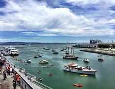 McCovey Cove, AT&T Park, June 27, 2015.  Jaw-droppingly gorgeous, inside and out.
