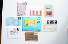 return letters by ♥ paper pastries, via Flickr