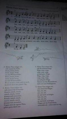 Lied kleine Tiere