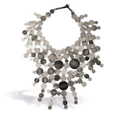"ANNA ORSKA-PL  - from ""Rundo"" collection. Made of mother-of-pearl and seashells"