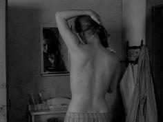 Liv Ullmann, en VERGÜENZA (1968), de Ingmar Bergman.
