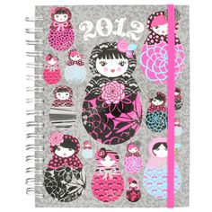 babushka planner/diary. color, pattern, style, content. it's my favorite paperchase line. EVER.