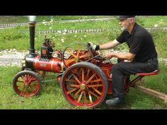 #Steam Burrell Traction 4 Inch, Dampftraktor  2012 Schweiz. #STEAMPUNK